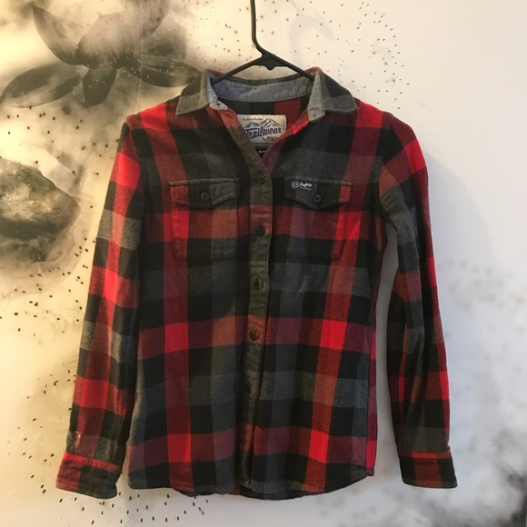 Madewell Tops - MADEWELL x PENFIELD Flannel Button up